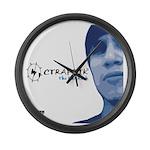 CTRAFFIK The BumRush Large Wall Clock