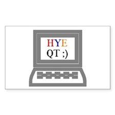 HYE QT Rectangle Decal