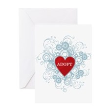 Cute Foster mom Greeting Card