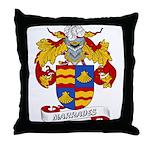 Marrades Coat of Arms Throw Pillow