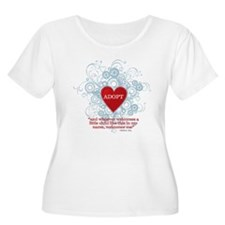 ADOPT WITH VERSE MATTHEW Plus Size T-Shirt