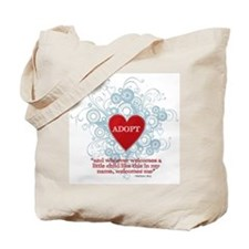 Cool Adoptive parents Tote Bag