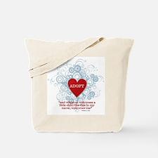 Cool Adopt Tote Bag
