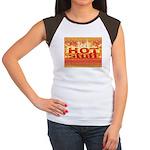 Hot Stuff Women's Cap Sleeve T-Shirt