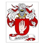 Mascaro Coat of Arms Small Poster
