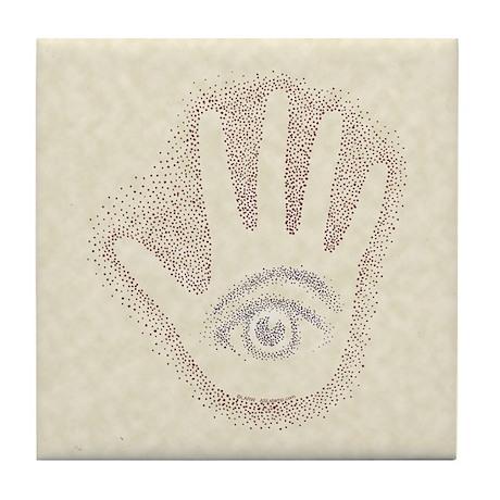 Earthy Petro EyeHand Tile Coaster