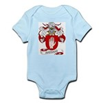 Mascaro Coat of Arms Infant Creeper