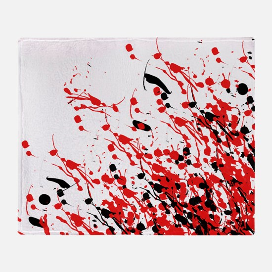 Drip & Splash Throw Blanket