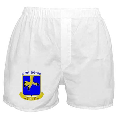 6/502 INF Boxer Shorts