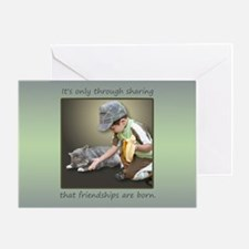 Cool Friendship quotes Greeting Card