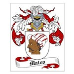 Mateo Coat of Arms Small Poster
