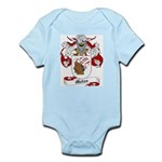 Mateo Coat of Arms Infant Creeper