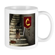 Cairn Terrier and Cat Mug