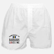 Somebody In Barbados Boxer Shorts