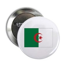 "Algeria Flag 2.25"" Button"
