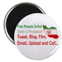 Save a Protester! Tweet, Film Magnet