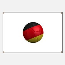 German Soccer Ball Banner