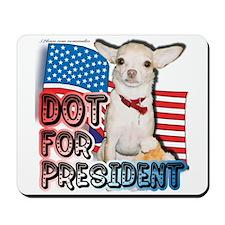Dot for President Mousepad