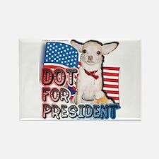 Dot for President Rectangle Magnet