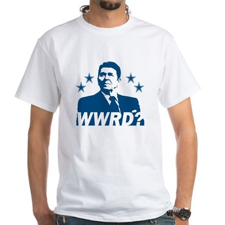 What Would Reagan Do? White T-Shirt