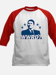 What Would Reagan Do? Kids Baseball Jersey