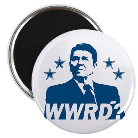 """What Would Reagan Do? 2.25"""" Magnet (100 pack)"""
