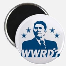 """What Would Reagan Do? 2.25"""" Magnet (10 pack)"""