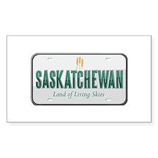 Saskatchewan Rectangle Decal