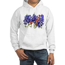 BLUEBONNETS AND PAINTBRUSH Hoodie
