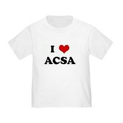 I Love ACSA T