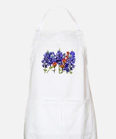 BLUEBONNETS AND PAINTBRUSH BBQ Apron
