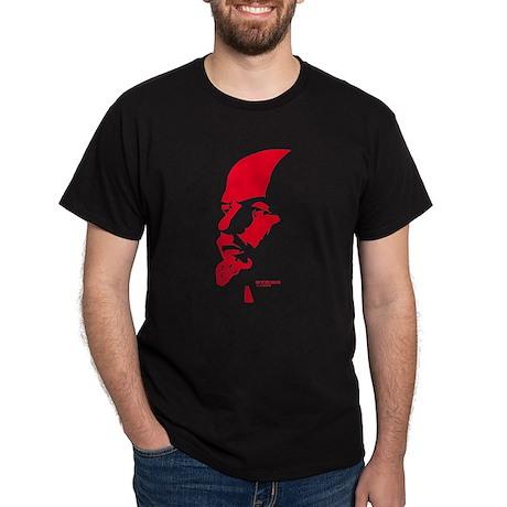 Strk3 Lenin Black T-Shirt