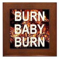BURN Framed Tile