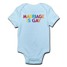 Marriage is Gay Infant Bodysuit