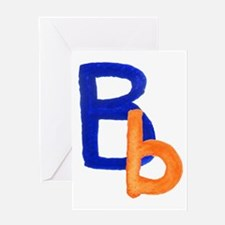 B is for Bubbly Greeting Card