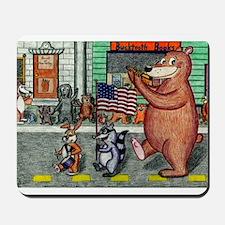 4th of July Parade Mousepad