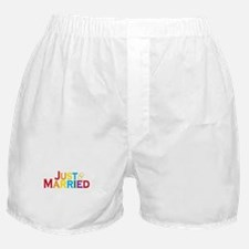Just Married (Gay) Boxer Shorts