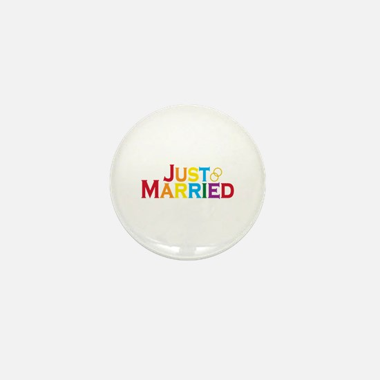 Just Married (Gay) Mini Button