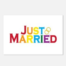 Just Married (Gay) Postcards (Package of 8)