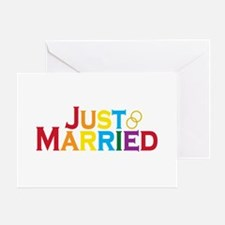 Just Married (Gay) Greeting Card