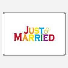 Just Married (Gay) Banner