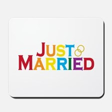 Just Married (Gay) Mousepad