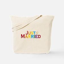 Just Married (Gay) Tote Bag