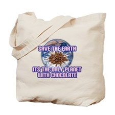 Save Earth only planet with c Tote Bag