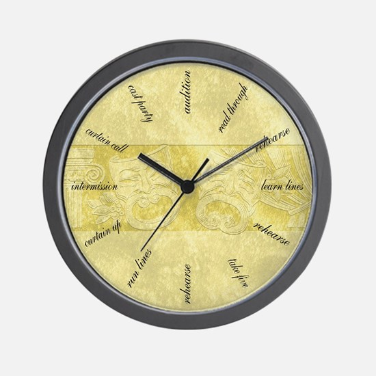 Theater Life Wall Clock
