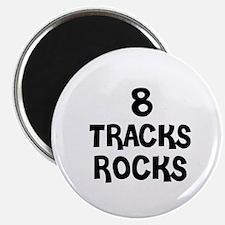 8 TRACKS ROCKS Magnet