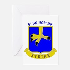 5/502 INF Greeting Cards (Pk of 10)