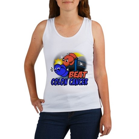 Beat Colon Cancer Women's Tank Top