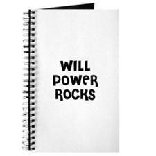 WILL POWER ROCKS Journal