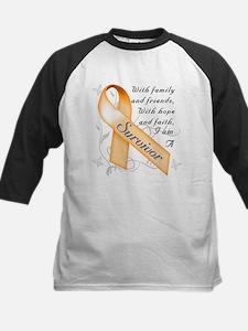 Leukemia Survivor Kids Baseball Jersey